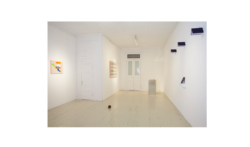 Installation view at Roberto Paradise | Fixed on the Scent of Light | Chaveli Sifre