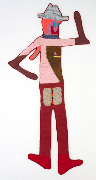 Ello' Tiger, 2015 | Hand crocheted assorted wool