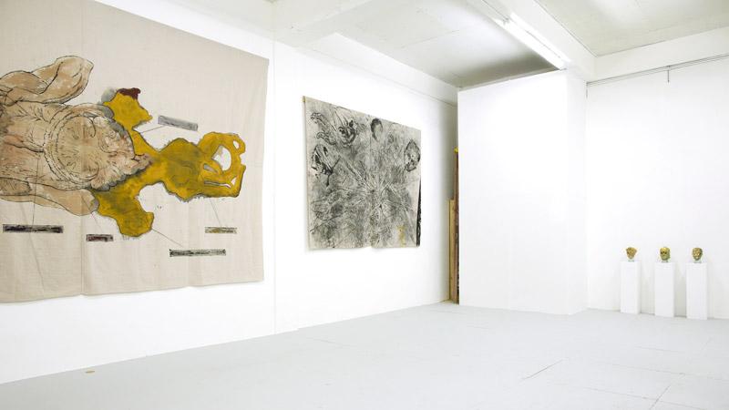 Installation view, Ya se acabó at Roberto Paradise, José Luis Vargas