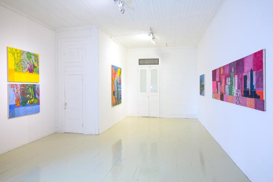 Installation view at Roberto Paradise | Esbaratyson | Tyson Reeder
