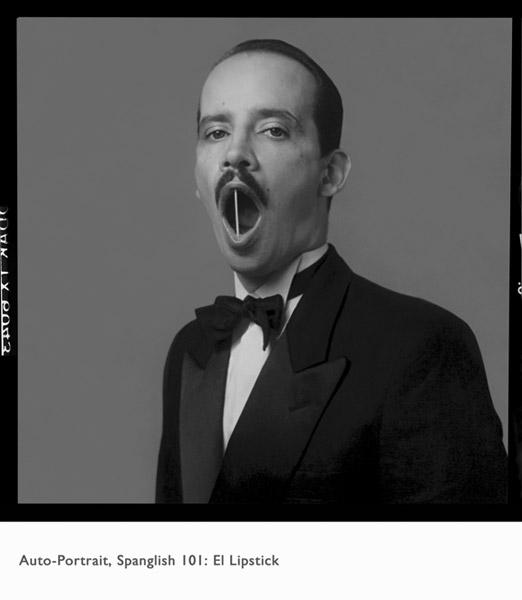 Spanglish 101:El Lipstick, 1988 | Archival Inkjet, 36'' x 36''