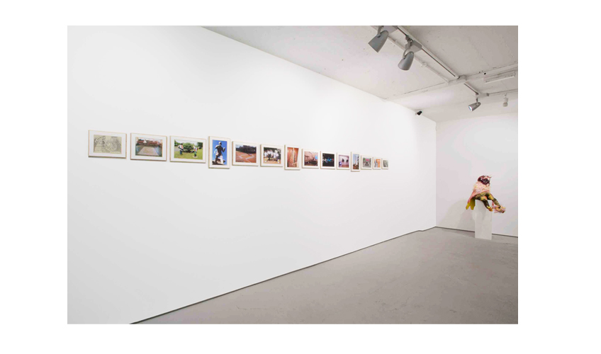 Installation view Roberto Paradise at Josh Lilley Gallery, London